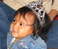 Tejana with tiara