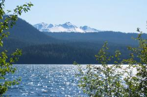 Diamond Peak from Odell Lake, June 2006