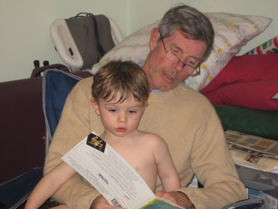 reading with grandpa dick