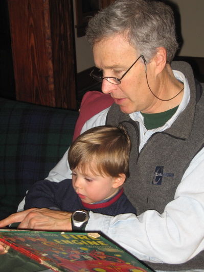 reading with grandpa tom