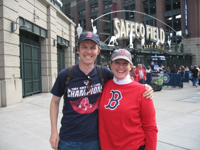 laurie and chris at safeco