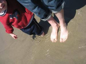 Buried feet