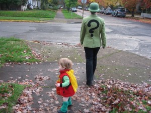 Robin and the Riddler.