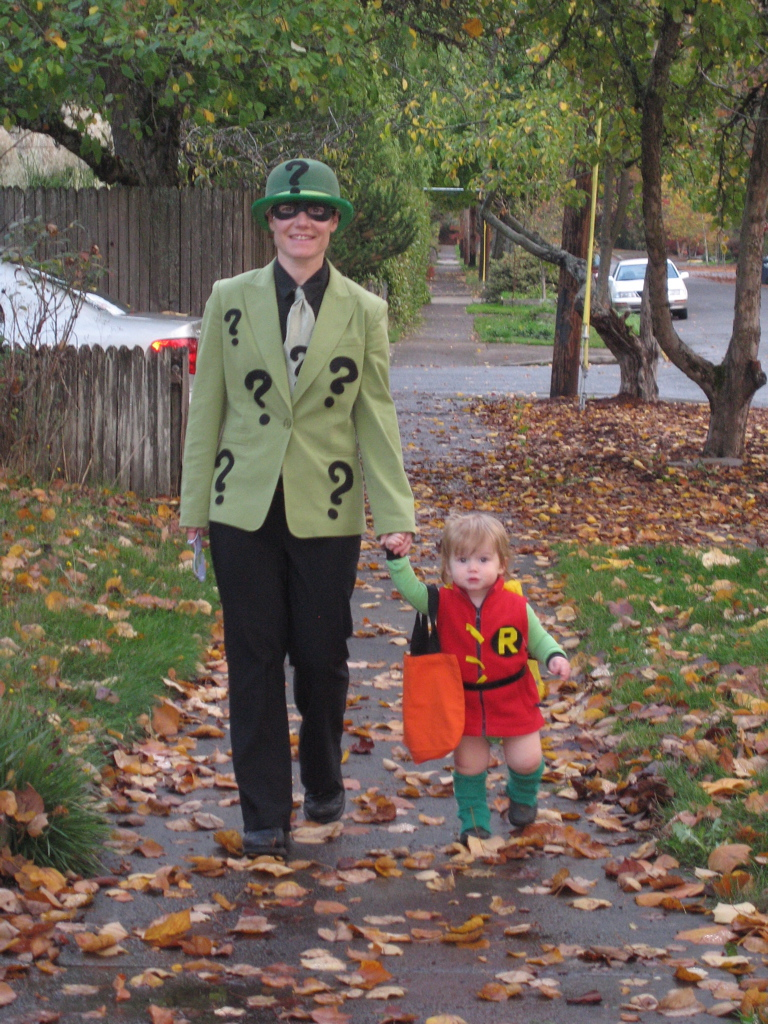 The Riddler and Robin, Halloween 2009